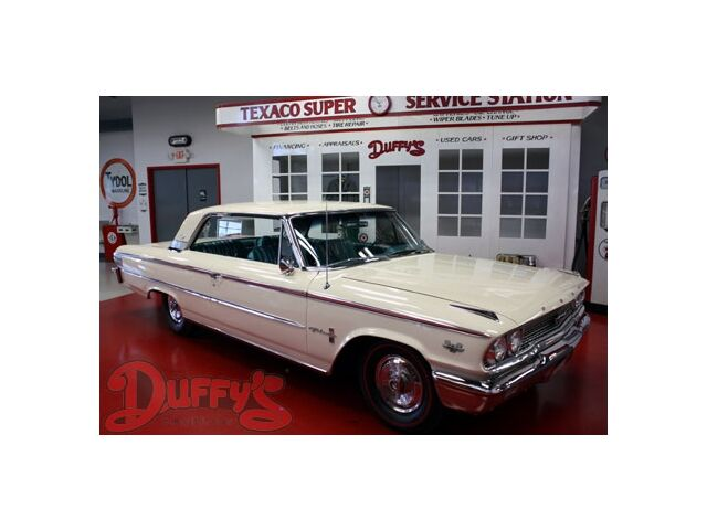 Ford : Galaxie 1963 Ford Galaxie 500 XL Hardtop Rare 406 car