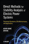 Direct Methods for Stability Analysis of Electric Power Systems: Theoretical Fou