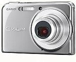 Casio EXILIM CARD EX-S770 7.2 MP Digital Camera - Silver
