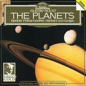 Holst-The-Planets-Gustav-Holst-Herbert-von-Karaja-Very-Good-CD