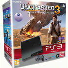 Sony PlayStation 3 Slimline Uncharted 3: Drake's Deception 320 GB Charcoal Black Console (PAL)
