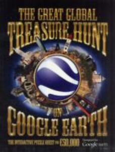 The-Great-Global-Treasure-Hunt-on-Google-Earth-Tim-Dedopulos-Very-Good-conditi