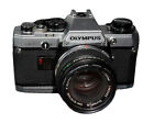Olympus OM10 35mm SLR Film Camera with 50mm Lens