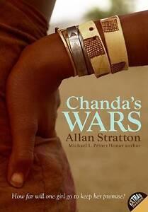 Chanda-039-s-Wars-by-Allan-Stratton-Paperback-Book-9780060872656-NEW