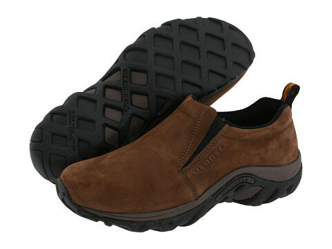 Merrell Jungle Moc Nubuck Slip-on Shoes