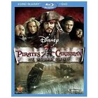 Pirates of the Caribbean: At World's End (Blu-Ray/DVD, 2007, 3-Disc Set)