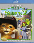 Shrek 2 (Blu-ray/DVD, 2012, Canadian; 3D; DVD/Blu-ray)