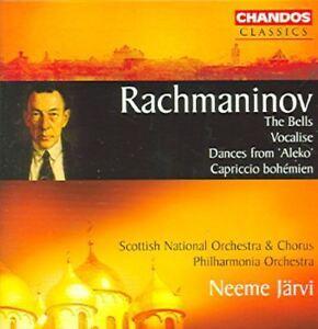 Bells, The, Vocalise, Dances from 'Aleko' (Jarvi, Po) CD NEW