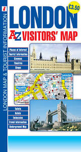 London-Visitors-Map-Geographers-A-Z-Map-Co-Ltd-Map-Book-NEW-9781843488880