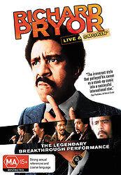 Richard Pryor - Live And Smokin' (DVD, 2010) New Region Free
