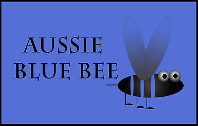 Aussie Blue Bee