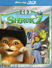 Shrek 2 (Blu-ray/DVD, 2011, 2-Disc Set, 3D)