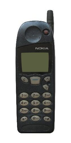 nokia 5110 black orange satellite phone ebay. Black Bedroom Furniture Sets. Home Design Ideas