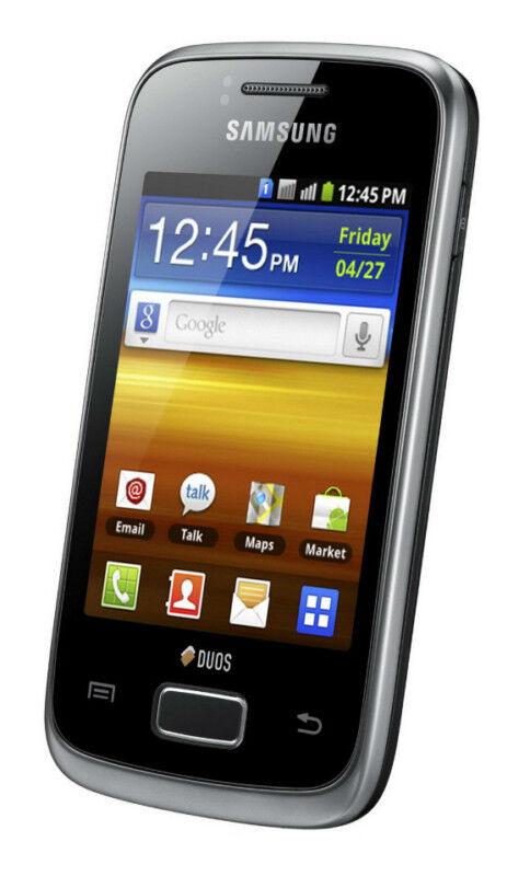 Samsung  Galaxy Y DUOS GT-S6102 - Strong black - Smartphone