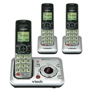 cordless phone 3 handsets review