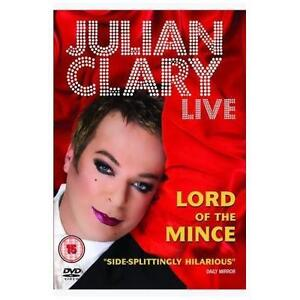 Julian Clary Lord Of The Mince Live DVD Region 2 Watched Once - Horley, United Kingdom - Julian Clary Lord Of The Mince Live DVD Region 2 Watched Once - Horley, United Kingdom