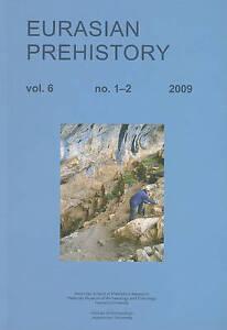 Eurasian Prehistory 6:1 And 6:2 (20  BOOK NEW