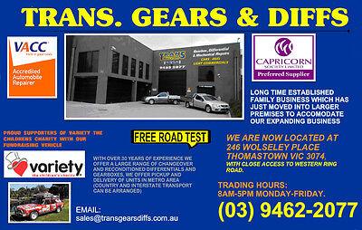 Trans Gears Diffs