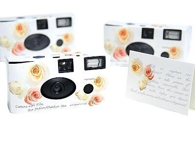 Praktisches für Ihre Hochzeit: Vorteile von Hochzeit-Einwegkameras