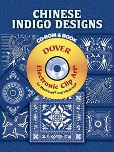 Chinese Indigo Designs by Dover Publications Inc. (Paperback, 2007)