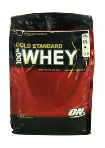 Gold standard whey 10lb
