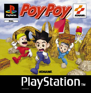 Play Station Spiel PS1 POY POY mit Anleitung Zustand OK + OVP