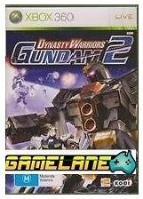 Dynasty Warriors: Gundam 2 (Microsoft Xbox 360, 2009)