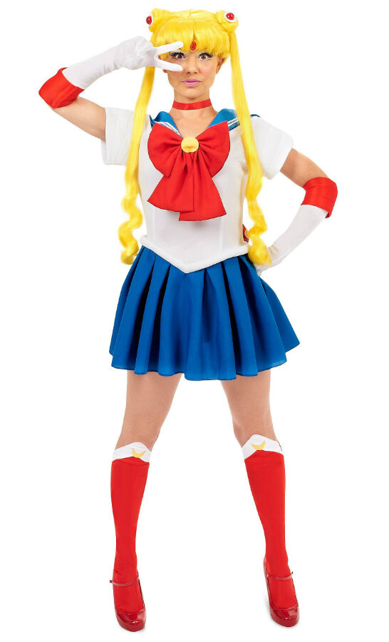 sailor moon costume costumes adult halloween teen cosplay incogneato amazon adults anime wig manga sailormoon womens mars character dress gloves