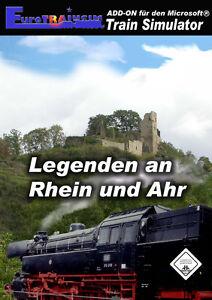 MS Train Simulator - Legenden an Rhein und Ahr - Add-On - NEUWERTIG !!! - Deutschland - MS Train Simulator - Legenden an Rhein und Ahr - Add-On - NEUWERTIG !!! - Deutschland