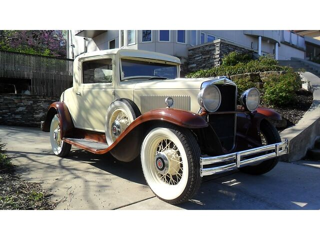 Other Makes S MODEL 1931 hupmobile restored coupe original manual 3 speed rare vintage model s