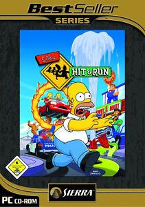 The Simpsons: Hit & Run PC deutsche Version mit Handbuch