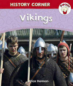 Vikings (Popcorn: History Corner)-ExLibrary