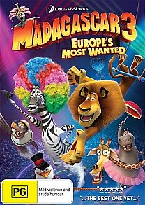 MADAGASCAR 3: Europe's Most Wanted : NEW DVD