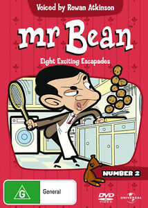 Mr Bean - The Exciting Escapades Of Mr Bean: Vol 2 (DVD) NEW/SEALED All Regions