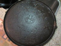 Methods used to clean vintage cast iron pans
