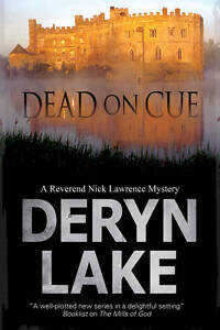 """VERY GOOD"" Lake, Deryn, Dead on Cue (A Nick Lawrence Mystery), Book"