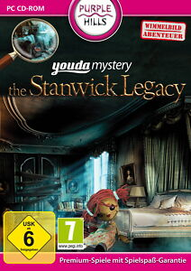 Youda Mystery: The Stanwick Legacy (PC, 2012, DVD-Box)