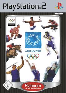 Athens 2004 mit Anleitung (PS2) - DVD wie Neu