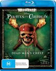 Pirates Of The Caribbean - Dead Man's Chest (Blu-ray, 2011, 2-Disc Set)