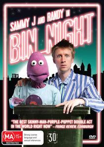 Sammy J And Randy In Bin Night (DVD, 2013)