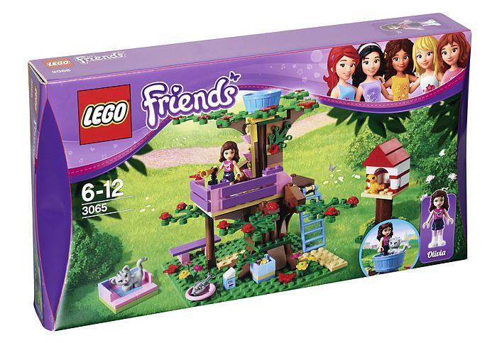 Lego Friends Olivias Tree House 3065 Ebay