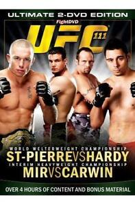UFC  UFC 111  St Pierre Vs Hardy DVD 2010 2Disc Set - <span itemprop=availableAtOrFrom>Northwich, United Kingdom</span> - UFC  UFC 111  St Pierre Vs Hardy DVD 2010 2Disc Set - Northwich, United Kingdom