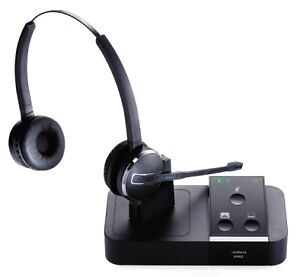 6e3bf882a1b Jabra PRO 9450 Duo Black Headset for sale online | eBay