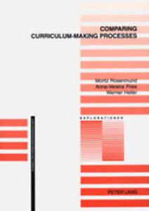 Comparing Curriculum-making Processes, Moritz Rosenmund