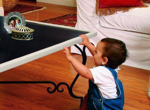 kind vor scharfen kanten sch tzen mit ecken und kantenschutz ebay. Black Bedroom Furniture Sets. Home Design Ideas