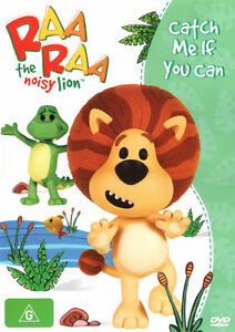 Raa Raa The Noisy Lion - Catch Me If You Can (DVD, 2013)