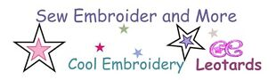 Sew Embroider and CE Leotards