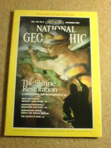 NATIONAL-GEOGRAPHIC-SISTINE-RESTORATION-Dec-1989
