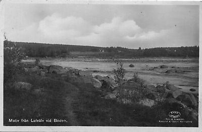 Lule älv vid Boden, Luleå, Norwegen-Norge, Ak um 1910