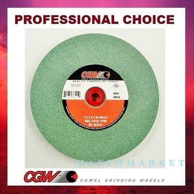 Bench Grinding Wheel 7x1x1 Green Silicon Carbide
